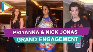 Priyanka & Nick Jonas GRAND Engagement  attended by many CELEBS - HUNGAMA