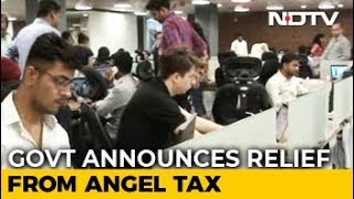 Government Announces Angel Tax Exemption For Recognised Start-Ups - NDTVPROFIT