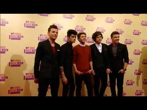 One Direction Red Carpet MTV VMAs 2012
