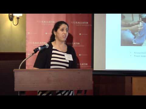 Shafeka Hashash - 2013 Gallatin Global Fellowship in Human Rights Symposium