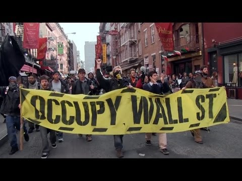 Anti-NDAA march March 29 2012 occupy wall st