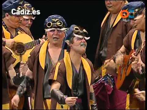 Sesión de Preliminares, la agrupación Los herederos del levante actúa hoy en la modalidad de Comparsas.