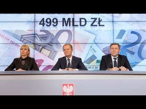 Polska dostanie 300 mld zł z budżetu UE.