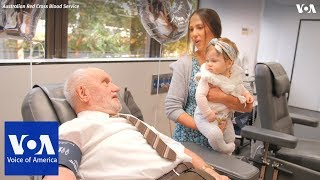 This Australian man's blood has saved millions of babies - VOAVIDEO