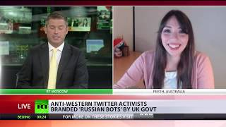 How to get a 'Russian Bot' label, 101: Just cast doubt on mainstream line on Skripal and Syria! - RUSSIATODAY