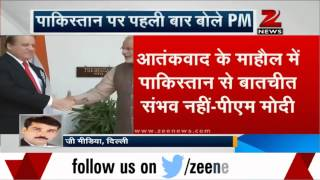 PM Modi disappointed with Pakistan making 'spectacle' of talks - ZEENEWS