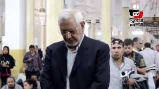 أبو الفتوح وخالد يتقدمان صلاة الجنازة على «سيف الإسلام» (فيديو) | المصري اليوم