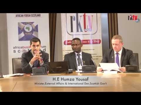 African Forum Scotland Business Report launched at the Scottish Parliament RKTV  news report