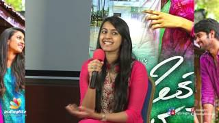 Niharika Talks at Oka Manasu Movie Press Meet   Niharika Konidela   Naga Shaurya   Rama Raju - IGTELUGU