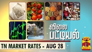 Vilai Pattiyal 28-08-2014 Market Rates of Essential Commodities in TN (28/8/14) – Thanthi TV
