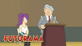FUTURAMA | Season 4, Episode 5: Leela's Induction | SYFY - SYFY