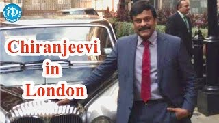 Chiranjeevi in London for Daughter's Convocation - IDREAMMOVIES
