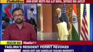Kerry meets Jaitley, Sushma and NSA Ajit Doval - NEWSXLIVE