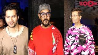Varun Dhawan, Karan Johar, Shashank Khaitan At Bhumi Pednekar's Birthday Bash - ZOOMDEKHO