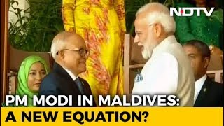 As Maldives Sheds China's Shadow, PM Modi Attends President's Swearing-In - NDTV