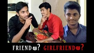 Friend a ? Girlfriend a ? TELUGU NEW SHORT FILM | STS CREATIONS - YOUTUBE