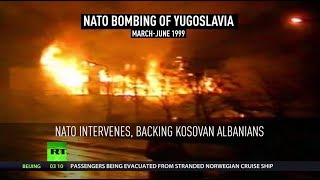 20th anniversary of  NATO's 'humanitarian' bombing campaign in Yugoslavia - RUSSIATODAY