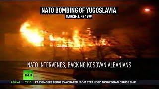 20th anniversary of  NATO's 'humanitarian' bombing campaign in Yugoslavia - RUSSIATODAY