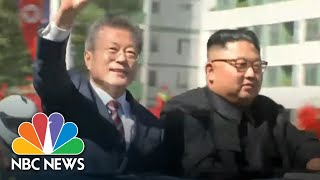 Hugs, Praise And High Expectations As Korean Leaders Meet In Pyongyang | NBC News - NBCNEWS