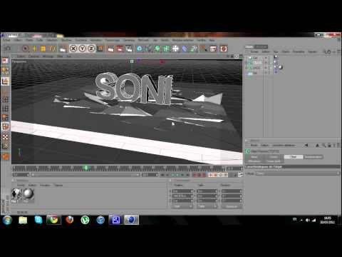 Tutoriel Cinema 4D | Destruction [FR]
