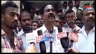 Farmers Protest for Water at Kurnool Dist | CVR News - CVRNEWSOFFICIAL