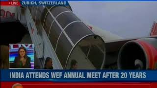 PM Modi in Davos to project Global growth engine in World Economic Forums meet 2018 in Davos - NEWSXLIVE