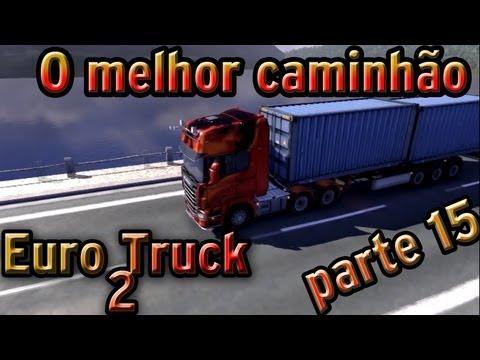 Euro Truck 2: O melhor caminhão do jogo (parte 15)