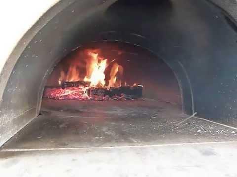 Pec na pizzu - FORNACE - roztápění 1