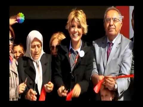 Çocuklar Gülsün Diye Tekirdağ Anaokulu Açılışı - Gülben Programı Show Tv 07.10.13