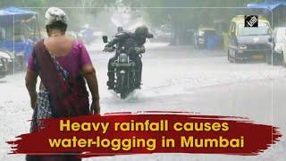 video : Mumbai - भारी बारिश के बाद कई Areas और Roads तालाब में तब्दील, Trains Stopped