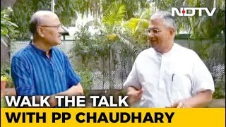 Walk The Talk With Minister PP Chaudhary - NDTV