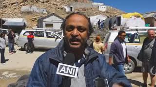 17 Jul, 2018 - Tourists throng world's highest motorable pass in Kashmir - ANIINDIAFILE