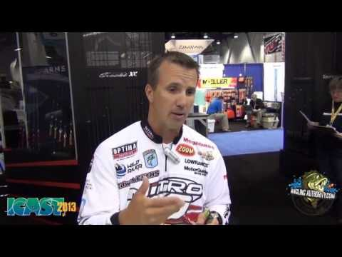 ICAST 2013 New Products - Edwin Evers Introduces the Knuckle Junior from Megabass