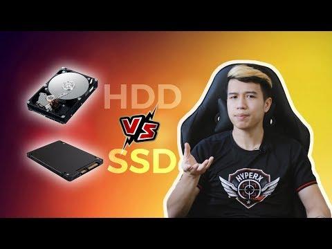 SSD và HDD khác nhau như thế nào?