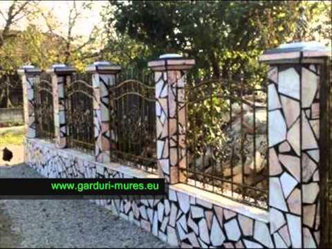 Gard fier prefabricat , poarta fier antichizat , executam la comanda orice model de Gard