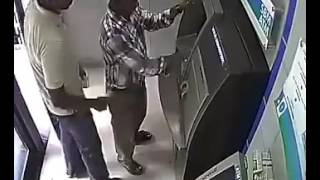 Be careful with your ATM card