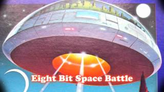 Royalty Free :Eight Bit Space Battle