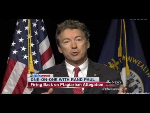 Rand Paul Plagiarism: Election
