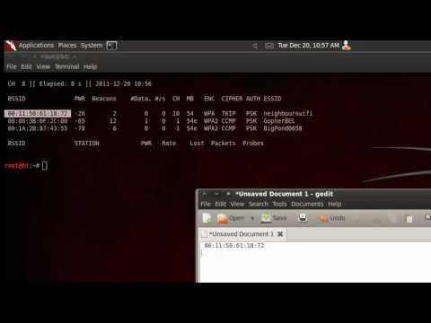 Hacking Tutorials - 6 - Wireless WPA/WPA2 cracking