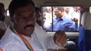 Congress Leaders Arrested over Protest against Collector Office | Nirmal | CVR News - CVRNEWSOFFICIAL