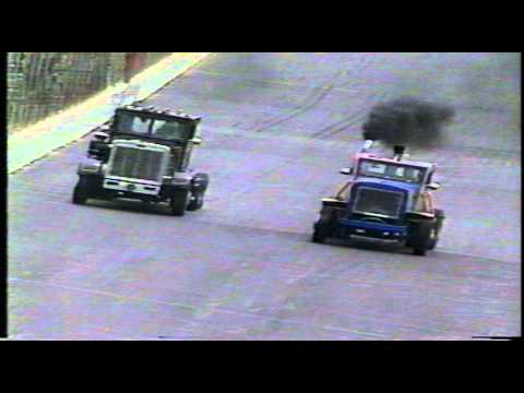 GATR Big Rig Dover Drag Race semi 1983......Great American Truck Racing