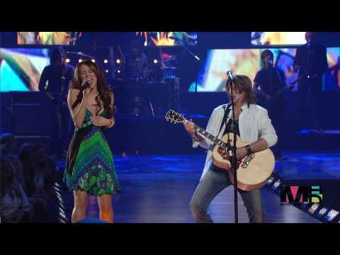 Billy Ray Cyrus & Miley Cyrus Ready Set Don t Go Live En Vivo