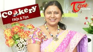Cookery Tips & FAQs    How to cook perfect White Rice - TELUGUONE