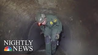 San Diego Border Agents Give Inside Look At Drug Trafficking Challenge | NBC Nightly News - NBCNEWS