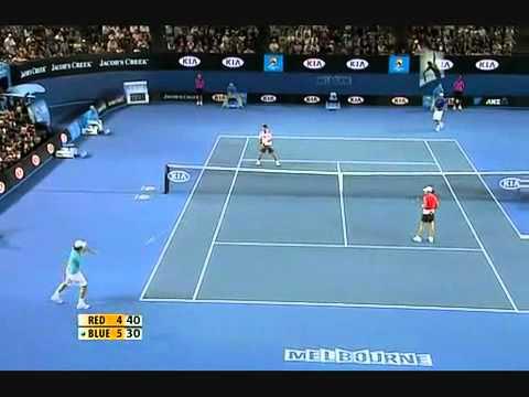 Tennis comedy Funny - Federer Nadal Djokovic (HD)