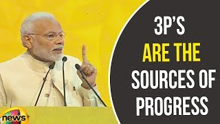 PM Modi Said Potential, Policy And Performance Are The Sources Of Progress | Mango News - MANGONEWS