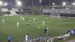 بالفيديو .. زينيت يمطر شباك فريق أكاديمية قطر بـ 18 هدفا
