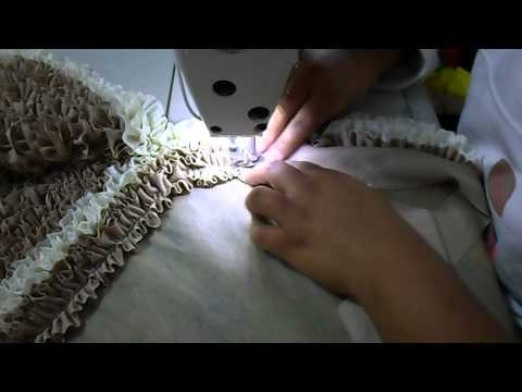 fazendo tapetes fru-fru manual
