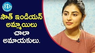 South Indian Girls Are Innocent Compare To North Indian. - Actress Shweta Avasthi | #MalliMalliChusa - IDREAMMOVIES