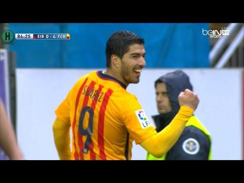 اهداف مبارة إيبار و  برشلونة 0-4 الدوري الإسباني 6-3-2016